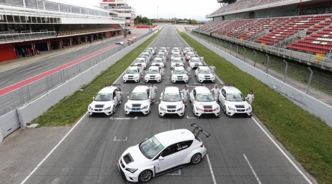 Les teams clients reçoivent et testent la SEAT Leon Cup Racer