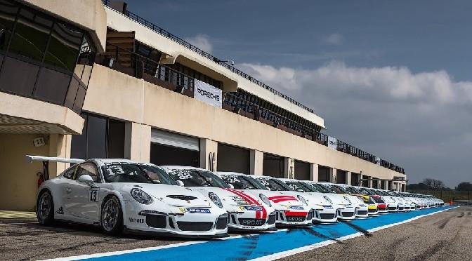Porsche Carrera Cup France 2014 :Premier « round » sur le circuit Bugatti du Mans
