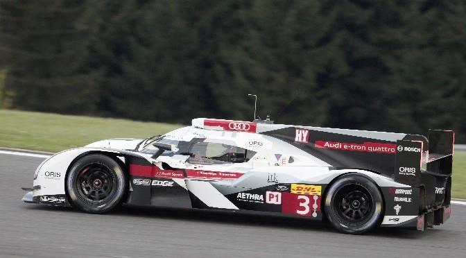 Audi developpe un aerodynamisme sophistique pour Le Mans