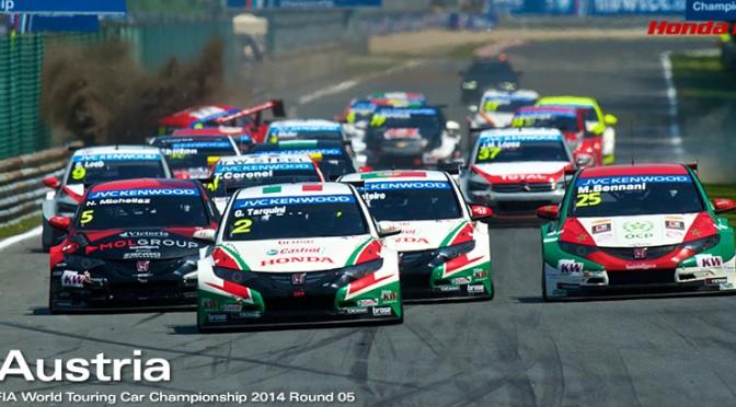 WTCC AU SALZBURGRING: Deux Podiums pour Honda