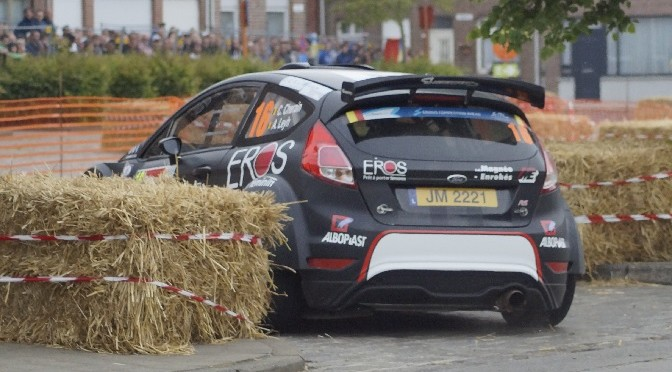 ERC 24 heures  d'Ypres : ROSSETTI L. & CHIARCOSSI M.  remporte le shakedown