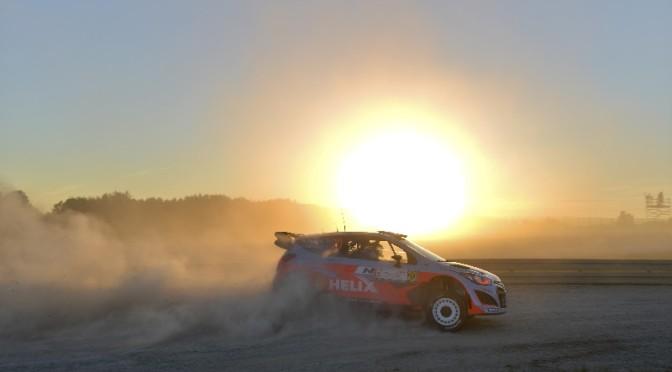 Le Hyundai Shell World Rally Team prêt à affronter les mille et une bosses du Rallye de Finlande