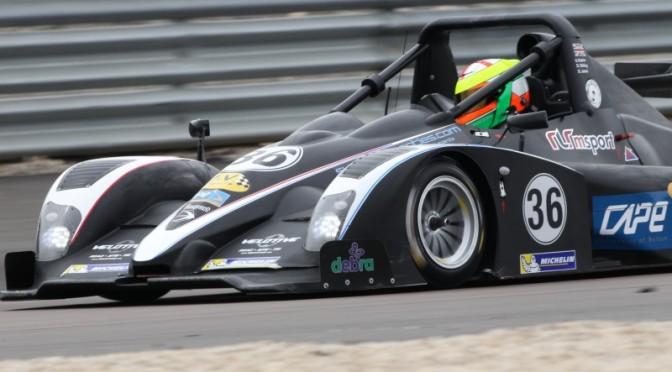 V de V :Deux Ligier JS 53 EVO sur le podium « Gentlemen Drivers » à Dijon