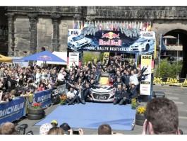 Podium Rallye d'Allemegne