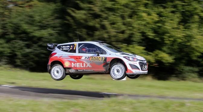 Hyundai Shell World Rally Team remporte sa première victoire au Rallye d'Allemagne