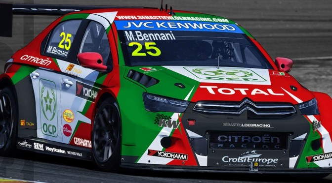 Preparation positive pour Mehdi Bennani et Sebastien Loeb Racing