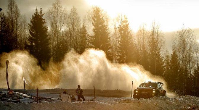 WRC RALLYE DE SUEDE SPRINT FINAL