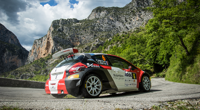 RALLYE D'ANTIBES: DES EFFORTS ENFIN RECOMPENSES