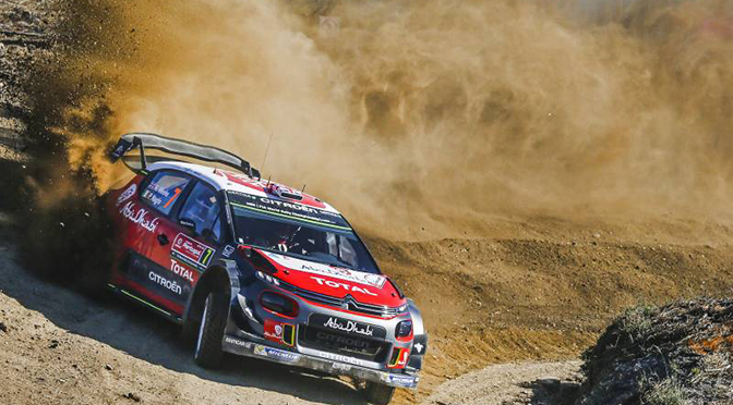 WRC RALLYE DU PORTUGAL: CITROEN DANS LE TOP 5