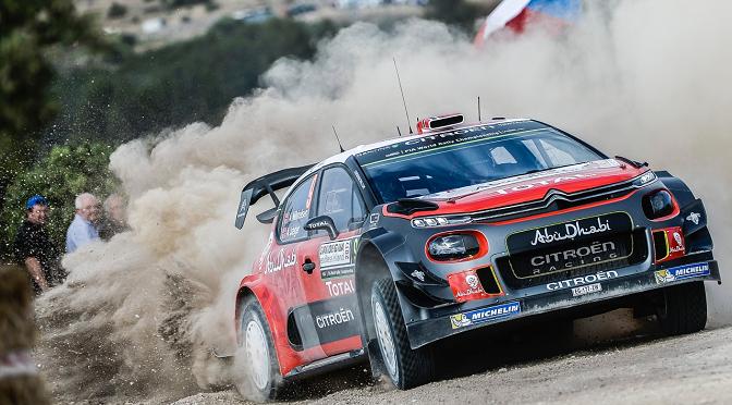 WRC : RALLY DE SARDAIGNE ETAPE 3
