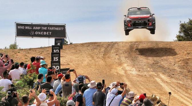 WRC: DEUXIEME ETAPE DU RALLYE DE SARDAIGNE.