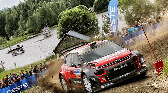 WRC RALLYE FINLANDE ETAPE 2