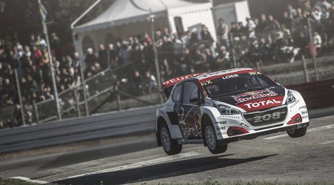 World RX: Sébastien Loeb enflamme la bretagne !