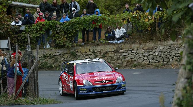 Rallye de Grande Bretagne shakedown