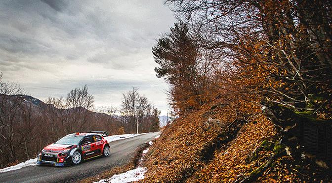 WRC: Monte Carlo 2018 etape 3