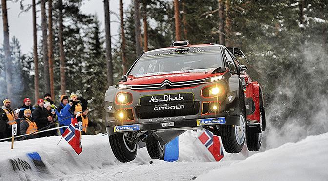 WRC Rallye de Suède seconde journée