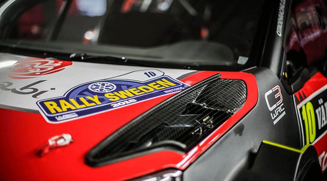 WRC Rallye de Suède shakedown