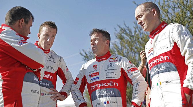 WRC Rallye du Mexique shakedown