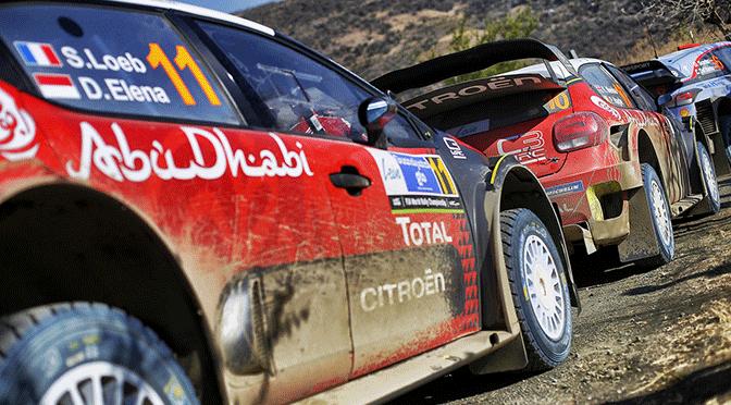 WRC: rallye du Mexique Loeb fait sensation