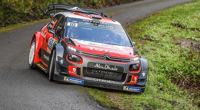 WRC: Tour de Corse 2018 Shakedown