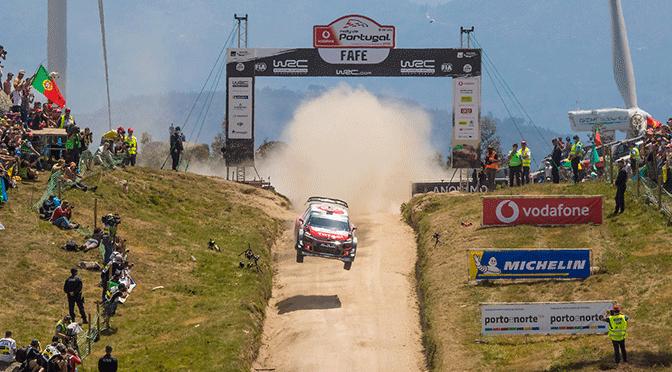 WRC: la Citroen C3 R5 , décroche son «permis» terre