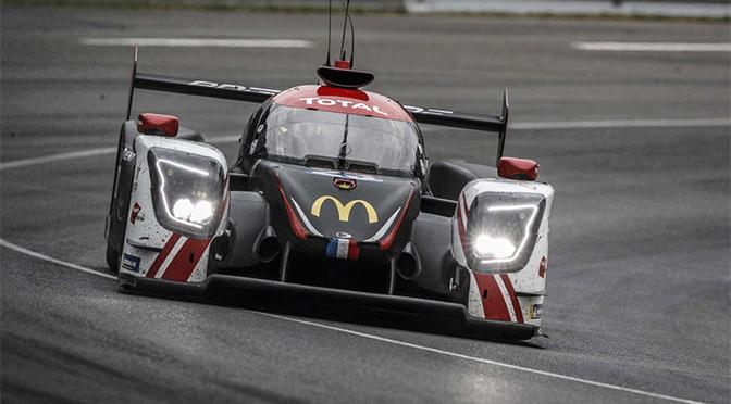La ligier JSP 217 de UNITED Autosport dans le top 5 au Mans