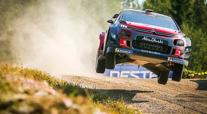 WRC:Rallye de Finlande première journée