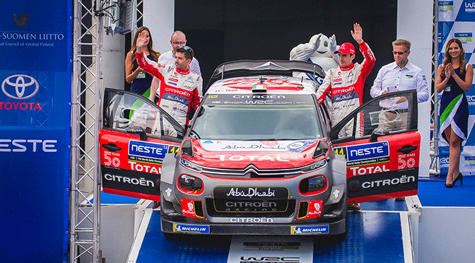 WRC : Rallye de Finlande étape: 3 OTT TANACK triomphe