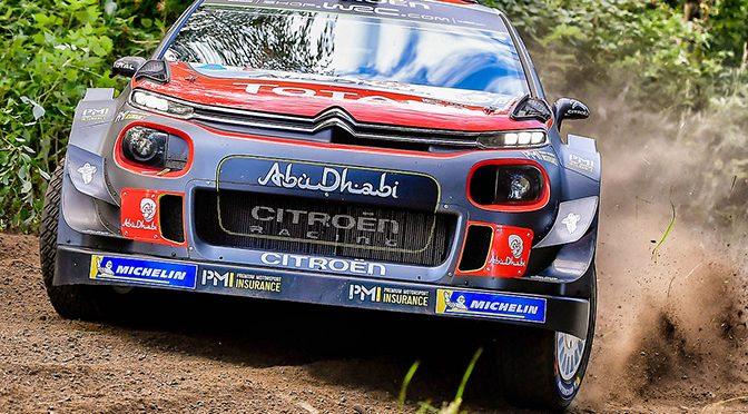 WRC Rallye de Finlande shakedown