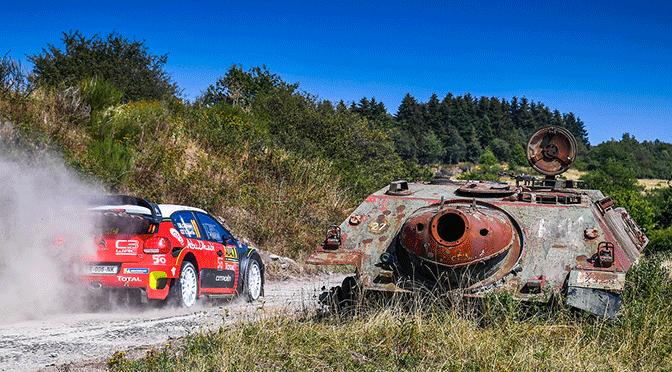 WRC Deutschland Rally Ott Tanack vainqueur
