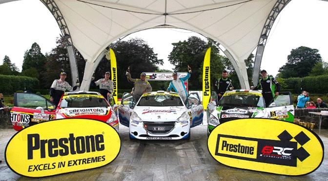 BRC Prestone Rally: Ulster rally
