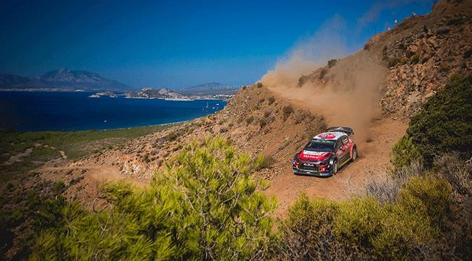 WRC Rallye de Turquie 2018 clap de fin