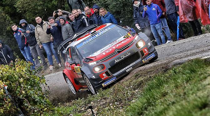 WRC: Rallye de catalogne étape 1